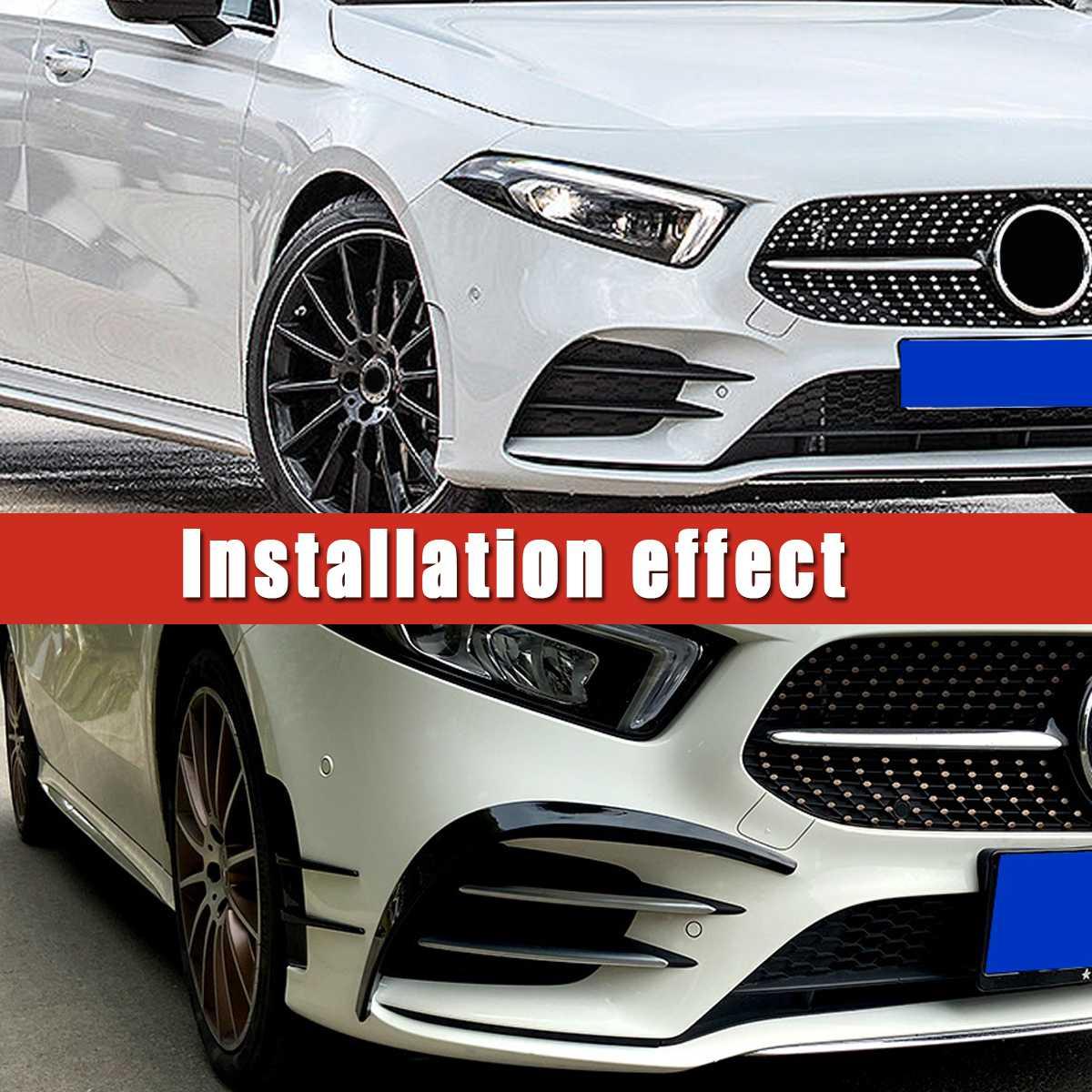 Canard  Canards Spoiler Splitter For Mercedes-Benz A Class W177 A200 A220 Sedan