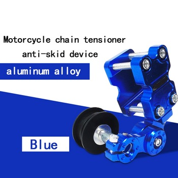 Motorcycle Aluminum Adjuster Chain Tensioner Roller anti-skid Tensioner Chain Guide Chain Automatic Regulator Tensioner цена 2017