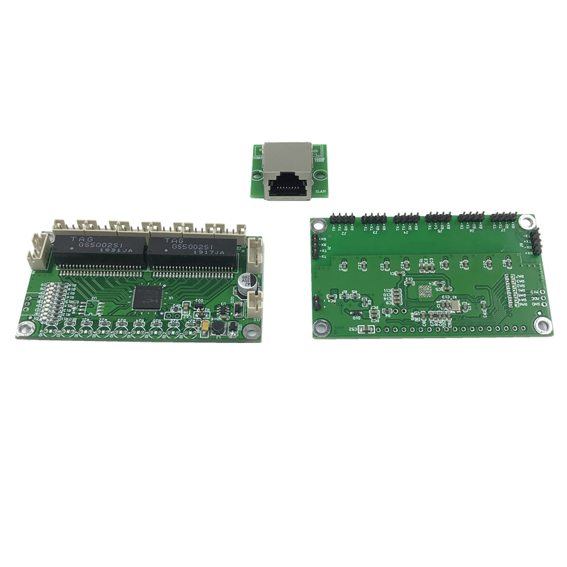 Unmanaged 5/8port 10/100M Industrial Ethernet Switch Module  PCBA Board OEM Auto-sensing Ports PCBA Board OEM Motherboard