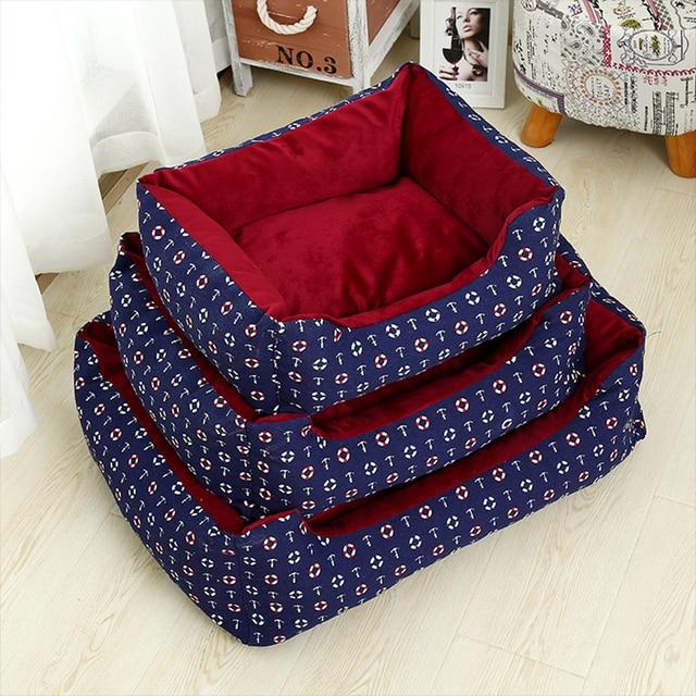 Warm Cozy Dog Bed 5
