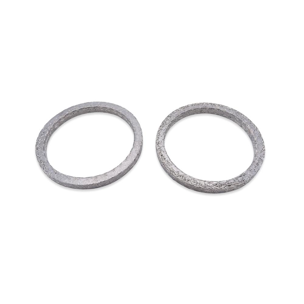 Exhaust Port Gasket Kits For Harley Davidson 1984-2017 Touring Softail Dyna Sportster 883 1200