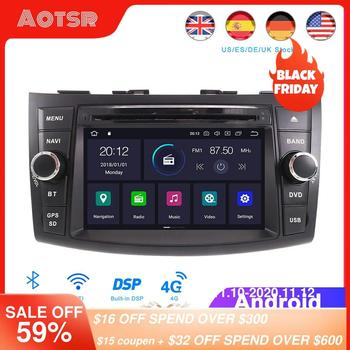 DSP Android 10.0 Car GPS Navigation DVD Player For Suzuki Swift 2011-2016 Auto Stereo Radio Multimedia Player Head Unit Recorder image