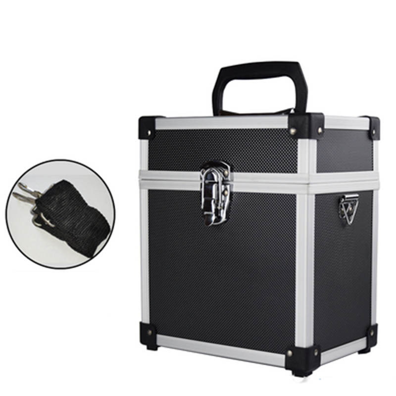 Portable Aluminum Alloy Tool Box Safety Equipment Camera Lens Case Impact Resistance Storage Box Level Measuring Instrument Case