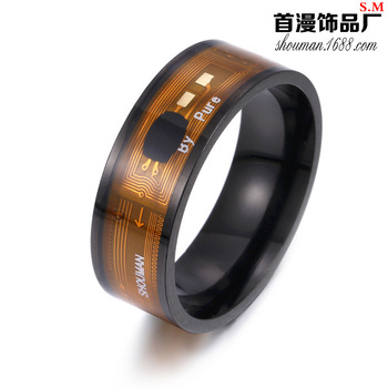 Ntag213 Chip NFC Smart Ring Wearable Smartphone Device
