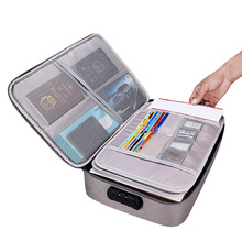 A4 File Folder with Lock Large Storage Document Bag Multifunctional Filing Products Big 6 Layers Portfolio Organizer Holder Box xiaobaomao a4 commercial business document bag tote file folder filing meeting bags pocket office bags pocket large capacity