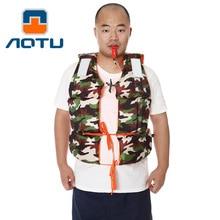 Летний, костюм для плавания для взрослых, камуфляжный жилет для дайвинга со свистком, купальный костюм, At9017-1
