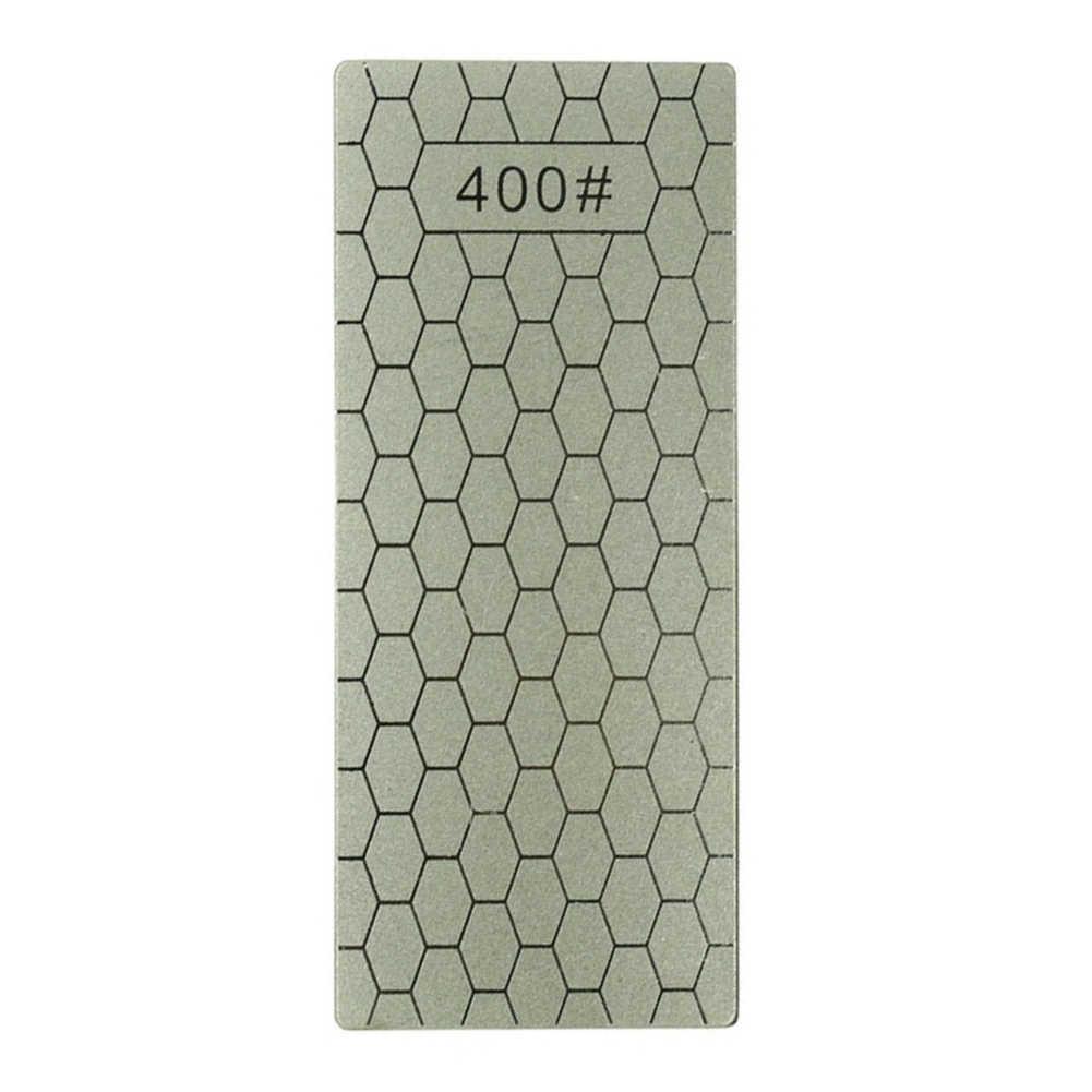 Profesional 400/1000 Tipis Berlian Batu Asah Pisau Diamond Piring Batu Asah Pengasah Pisau Grinder Dapur Mengasah Alat