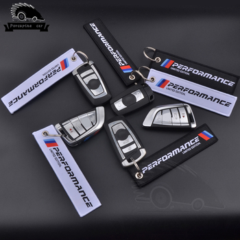 Car Styling M Performance Keychain Keyring For BMW 1 3 5 6 7 X1 X3 X5 X6 E46 E39 E36 E90 F10 F30 Cloth key chain Accessories image