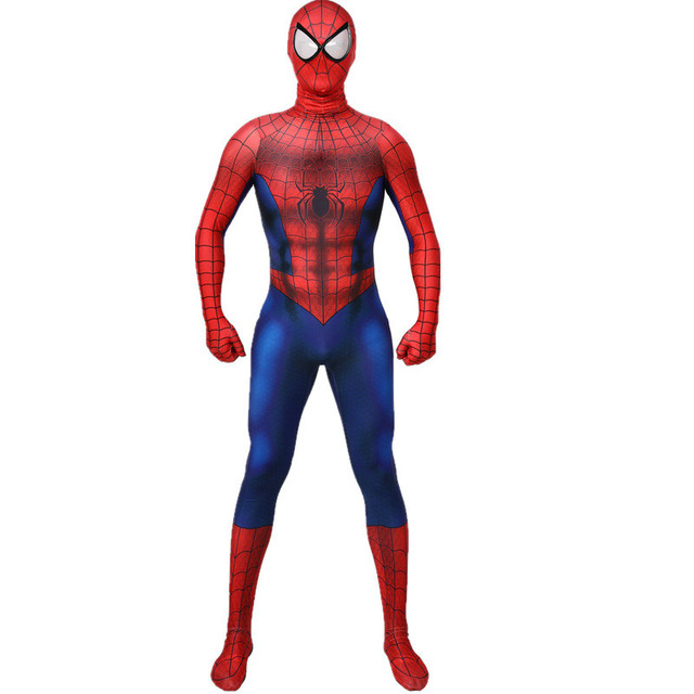 Movie The Amazing Spider-man 2 Muscle Suits Cosplay Costumes 3D Printed Adult Child Jumpsuits Spandex Bodysuit Halloween Costume