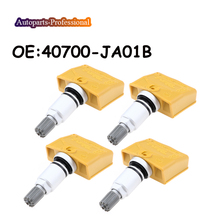 4 unids/lote 315MHZ TPMS Sensor de presión de neumáticos para N issan Pathfinder Altima frontera M35 M45 FX35 FX45 QX56 40700 JA01B 40700JA01B