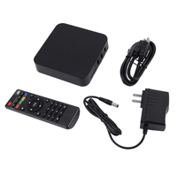Amlogic S805 Android 4.4 Quad Core WiFi 802.11b/g/n Smart Set TV Box 8GB Support SD Card