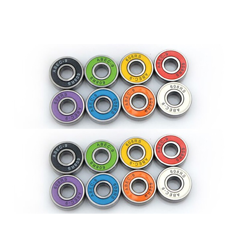8 Pieces/lot ABEC 11 And 9 High Speed Wearproof Skateboard Scooter Inline Bearings Skateboard Scooters Skate Board Accessories