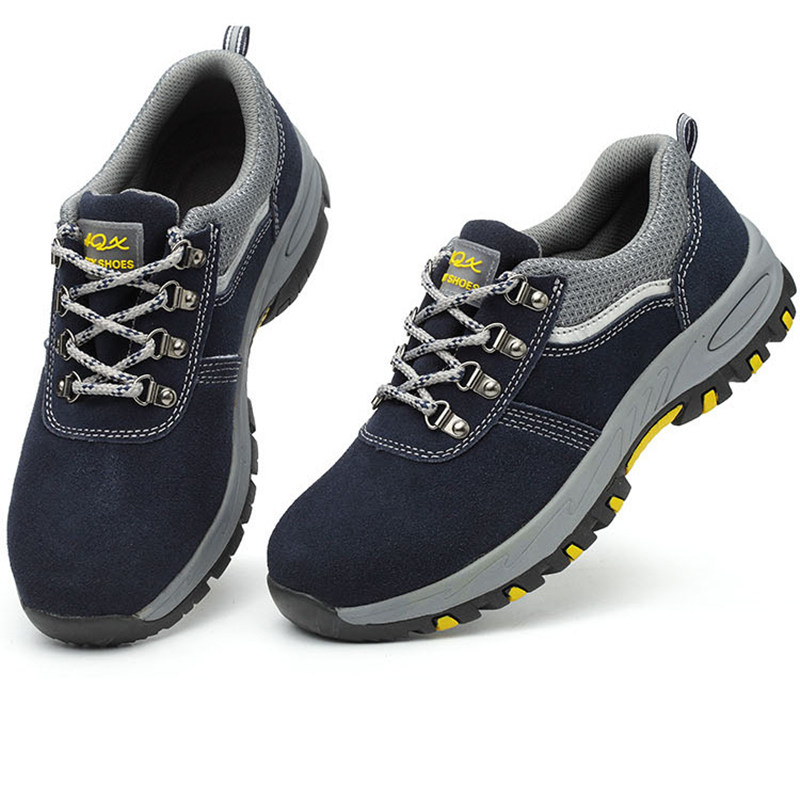 Men's Hiking Boots Waterproof Work Safety Shoes Composite Toe Breathable Slip Resistant For Industrial & Construction