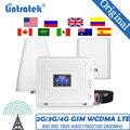 Усилитель сотового сигнала GSM 900 1800 ~ 2600 850, усилитель AWS 1900, мобильный усилитель Lintratek DCS WCDMA 2G 3G 4G LTE, ретранслятор сигнала с антенной
