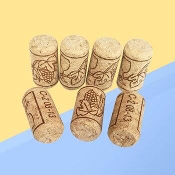 New 100Pcs Wine Cork Reusable Creative Functional Portable Sealing Wine Cork Wine Bottle Cover For Bottles Wine