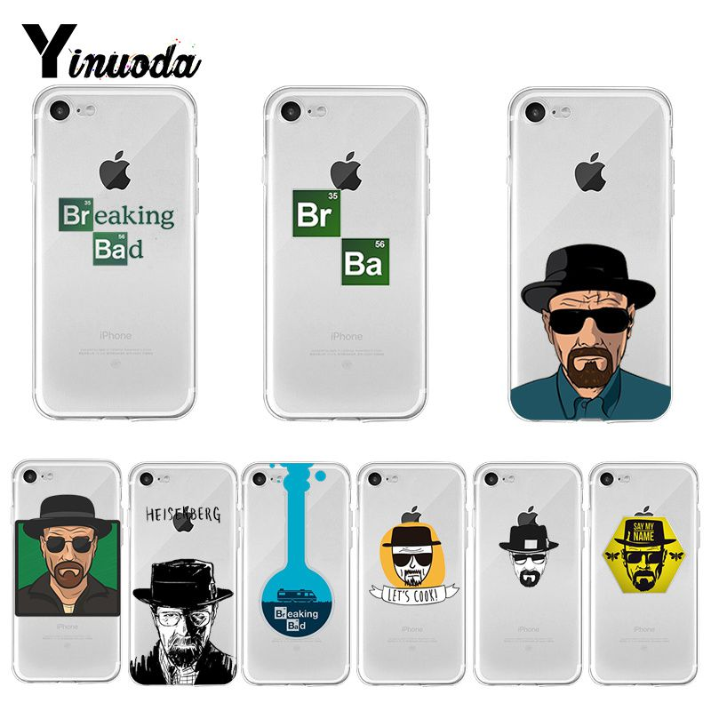 Yinuoda Breaking Bad On Sale Cool Phone Case for Apple iPhone 8 7 6 6S Plus X XS max 5 5S SE XR Cover