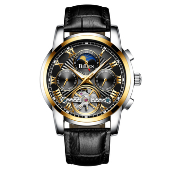 2020 Men's Wrist Watch Luxury Orlando Men's Watch Men Erkek Kol Saati Fashion Watches Clock Stainless Steel Watch Men fashion caual men watches black stainless steel quartz wristwatches men luxury watches erkek kol saati horloge man montres homme