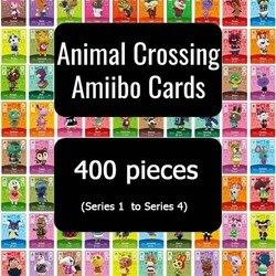 400 шт. карточка для скрещивания животных Amiibo карта полный набор для переключения карт для скрещивания животных (Серия 1 в серии 4)