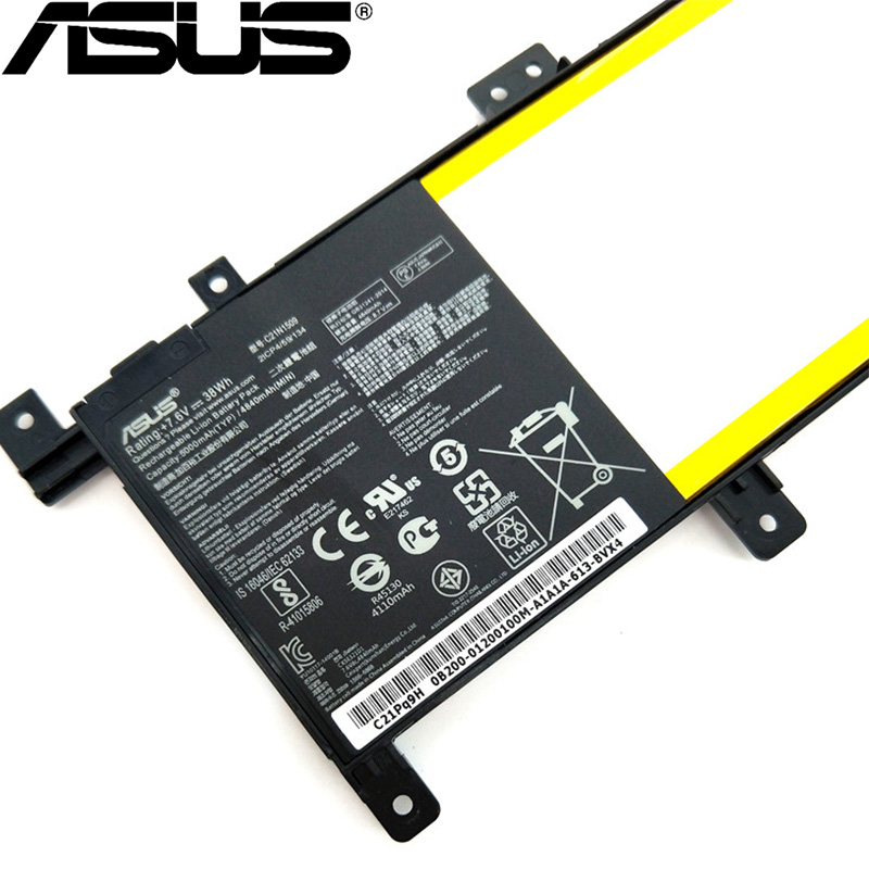 <font><b>ASUS</b></font> 100% Original C21N1509 5000mAh For <font><b>ASUS</b></font> X556U <font><b>X556UA</b></font> X556UB X556UJ X556UQ X556UV FL5900U NEW High quality Battery image