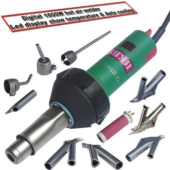 цена на 220V 1600W digital Plastic welding Gun/Plastic welder/Hand held hot air gun/ Hot Air Torch Plastic Welding Gun Welder Pistol