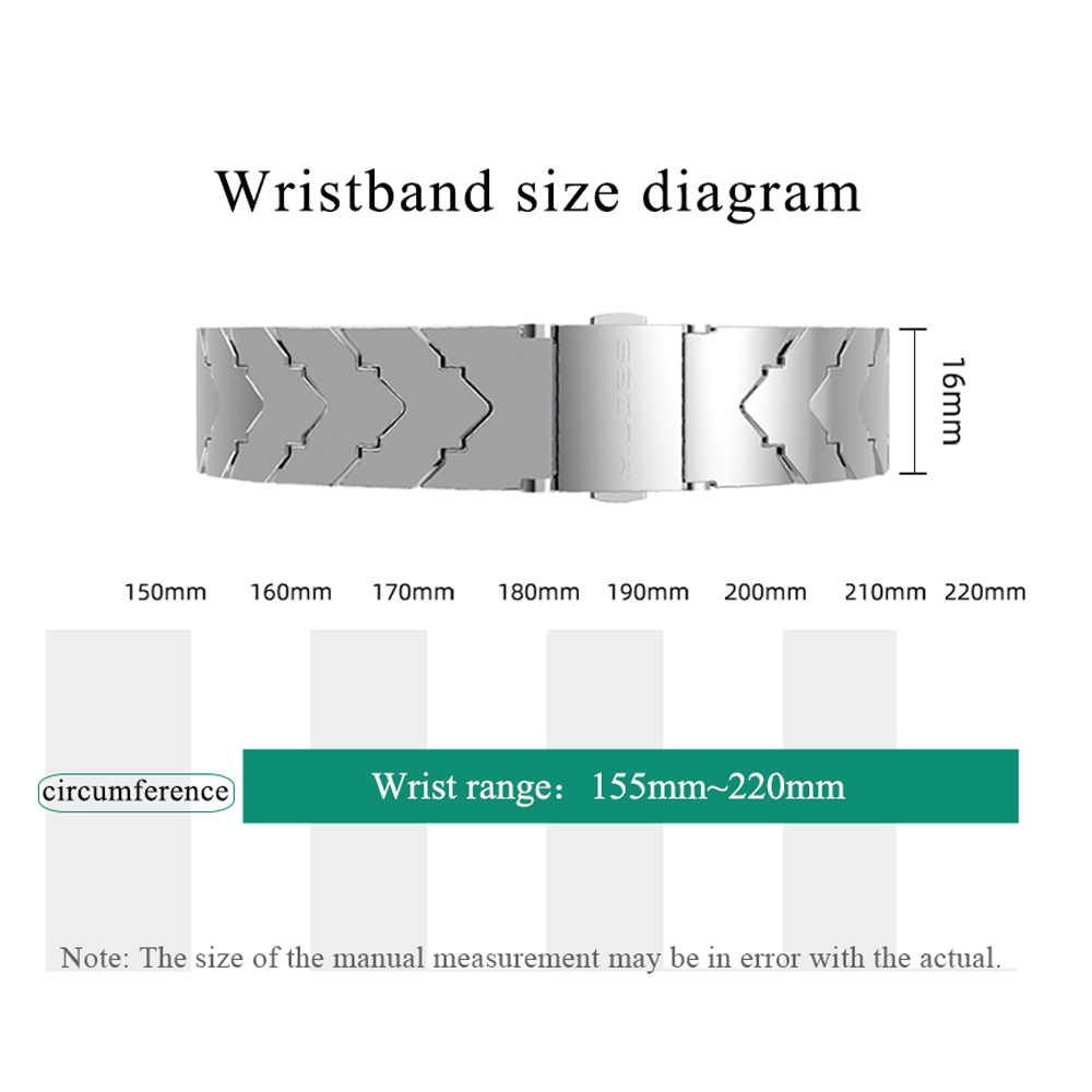 Image 5 - Mijobs Mi band 4 strap Metal For Xiaomi Mi Band 4 Stainless Steel Bracelet Mi Band 4 Wrist Straps Mi Band3 Wristband NFC Global-in Smart Accessories from Consumer Electronics