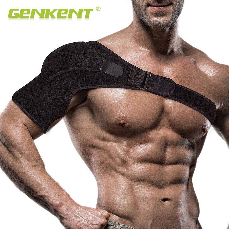 Adjustable Left/Right Shoulder Support Bandage Protector Brace Joint Pain Injury Shoulder Strap VIP Price