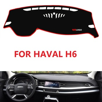 Anti-UV Dashboard Cover Dashmat Mat Pad Car Styling Sun Visor Shade Carpet For Great Wall Haval H6 2017 2018 2019 2020 image