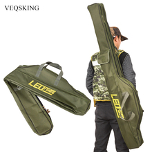 100/150cm Folding Fishing Bag Fishing Gear Tackle Storage Bag for Man Oxford Fishing Pole Bag Fishing Rod Reel Lure Bag
