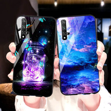 Tempered Glass Phone Case For huawei honor 9 10 20 note glass case for lite V20 pro back cover