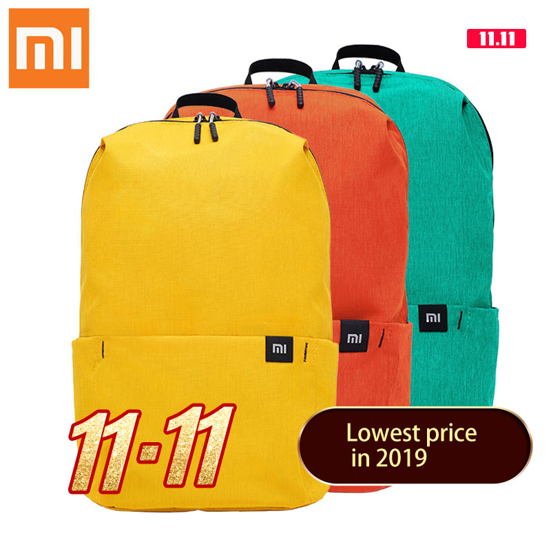 Xiaomi Backpack 10L Bag Waterproof Colorful Leisure Sports Chest Pack Original Men Women Bags Travel Camping For Mens Women|Backpacks| |  - title=