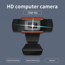 HD Webcam Office-Caring 720P Microphone Computer-Supplies with USB 1280x720 Built-In