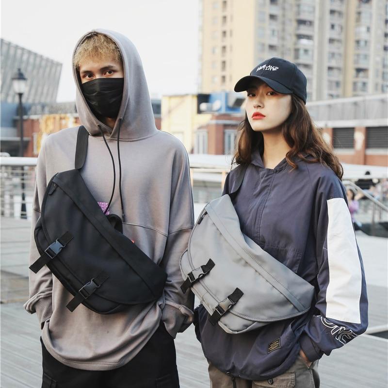 Large Capacity Women's Waist Bag Hip Hop Men Shoulder Crossbody Bags High Quality Chest Bags Female Fanny Pack Male Bum Belt Bag