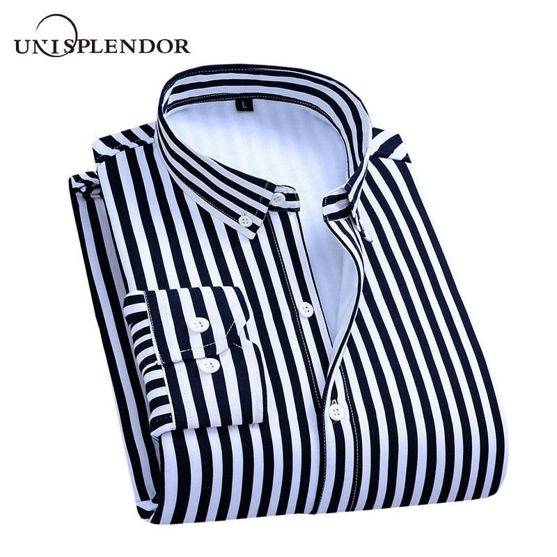 Winter Warm Men Shirts Striped Thicken Man Shirt New Fashion Plus Velvet Cool Male Shirt Casual Men's Shirts Plaid Top YN10532