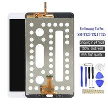 New for samsung galaxy tab pro sm t320 t321 t325 lcd sensors