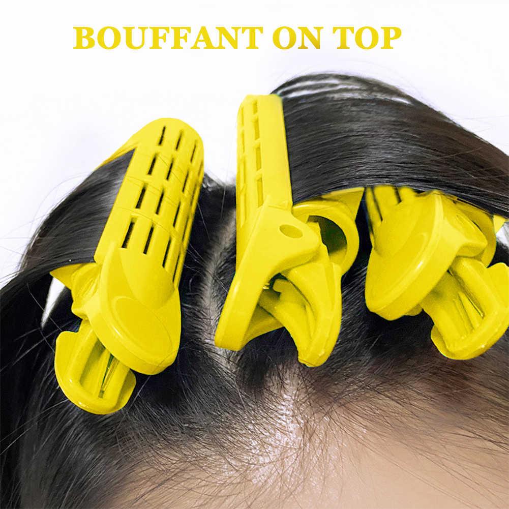 Bigoudis duveteux, 2 pièces, à racines de cheveux, pour bigoudis, pour coiffure, à faire soi-même, barres de maïs, Clips