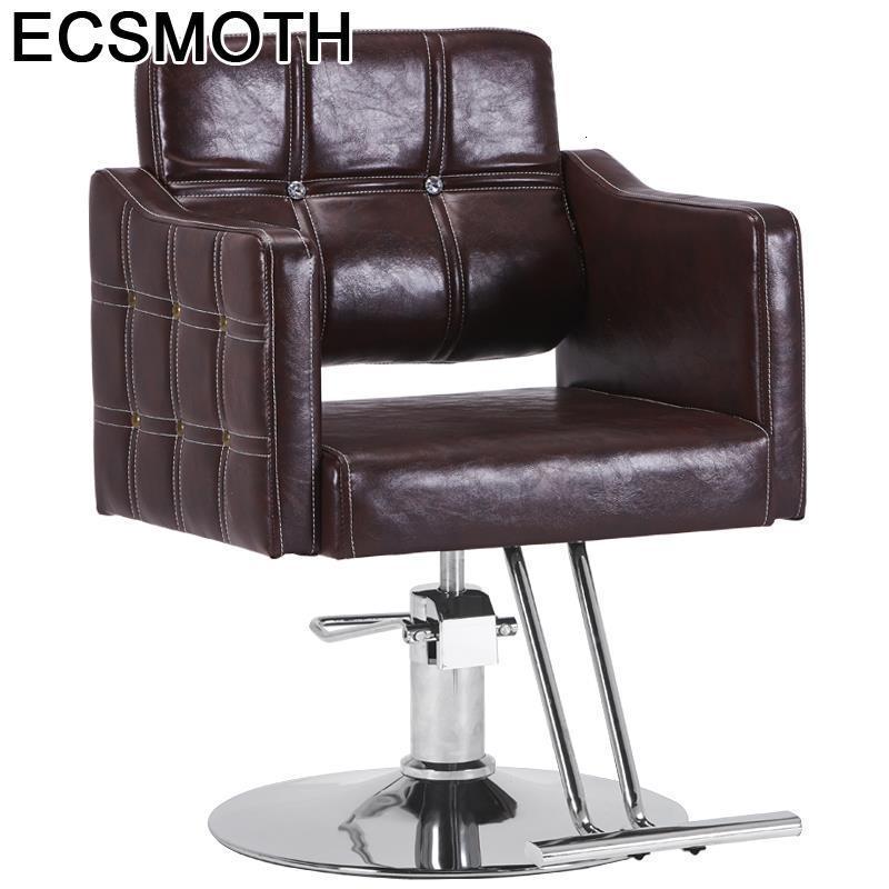 Hair De Belleza Cabeleireiro Sedia Mueble Nail Furniture Stuhl Makeup Cadeira Barbeiro Silla Barbearia Shop Salon Barber Chair