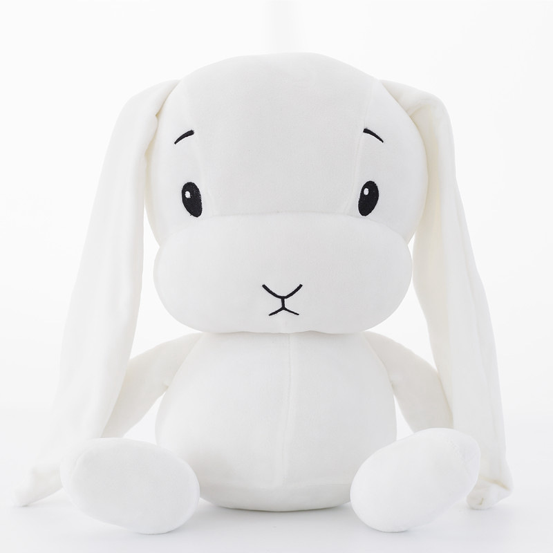 Cute rabbit plush toy rabbit filled stuffed animal baby toy doll baby with sleeping toy gift suitable for children in Stuffed Plush Animals from Toys Hobbies