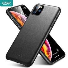 ESR 프리미엄 진짜 가죽 케이스 아이폰 11 프로 최대 2019 슬림 전체 가죽 Shockproof 보호 전화 케이스 아이폰 11 11 프로