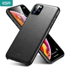 ESR Premium Echt Leder Fall für iPhone 11 Pro Max 2019 Dünnes Volles Leder Stoßfest Schutzhülle Telefon Fall für iPhone 11 11 Pro