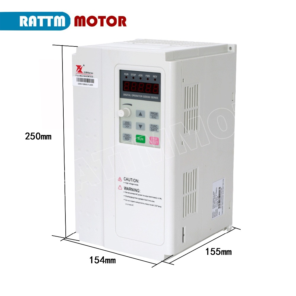 5-5KW-220V-or-380V-3HP-Variable-Frequency-VFD-Inverter-Output-3-phase-1000Hz-13A-23A