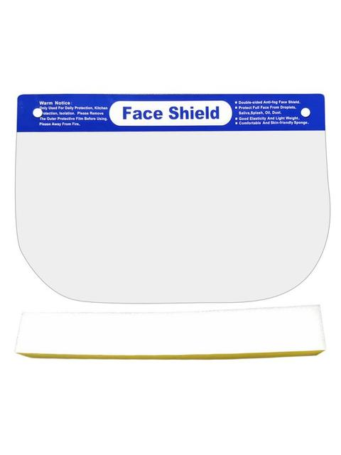 50PCS Protective Mask Face Shield Safety Mask Transparent Windproof Dustproof Splashproof Protective Mask for Adult Health mask 2