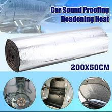 AUDEW 200cm x 50cm 5mm/10mm/20mm/30mm Auto Lkw Firewall wärme Sound Deadener Noise Isolierung MatCar Wärme Sound Thermische Beweis Pad