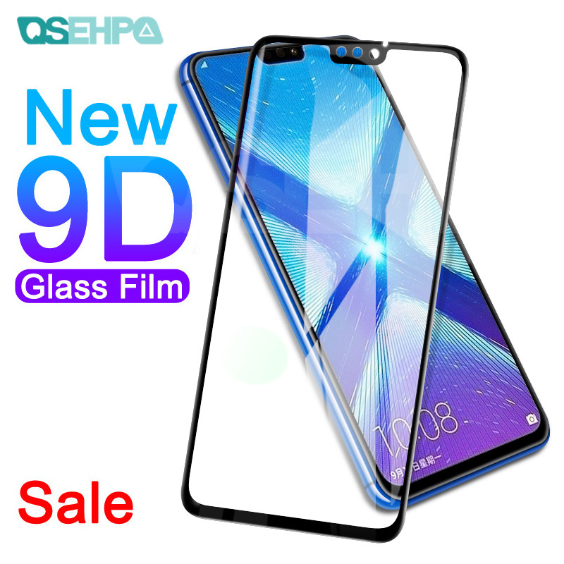 9D Protective Glass On The For Honor 20 20i 10i 9i V20 V10 V9 Play Screen Protector For Honor 9X 8X 8A 8C Tempered Glass Film