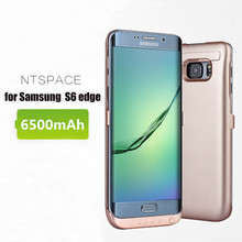 NTSPACE 6500mAh Power Bank Case For Samsung Galaxy S6 edge G9250 External Battery Charger Cases Edge
