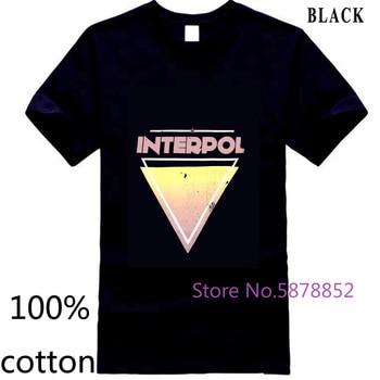 Camiseta de manga corta con Logo de la banda de la Federación Internacional para hombre, Camiseta 100% algodón 3XL 4XL 5XL