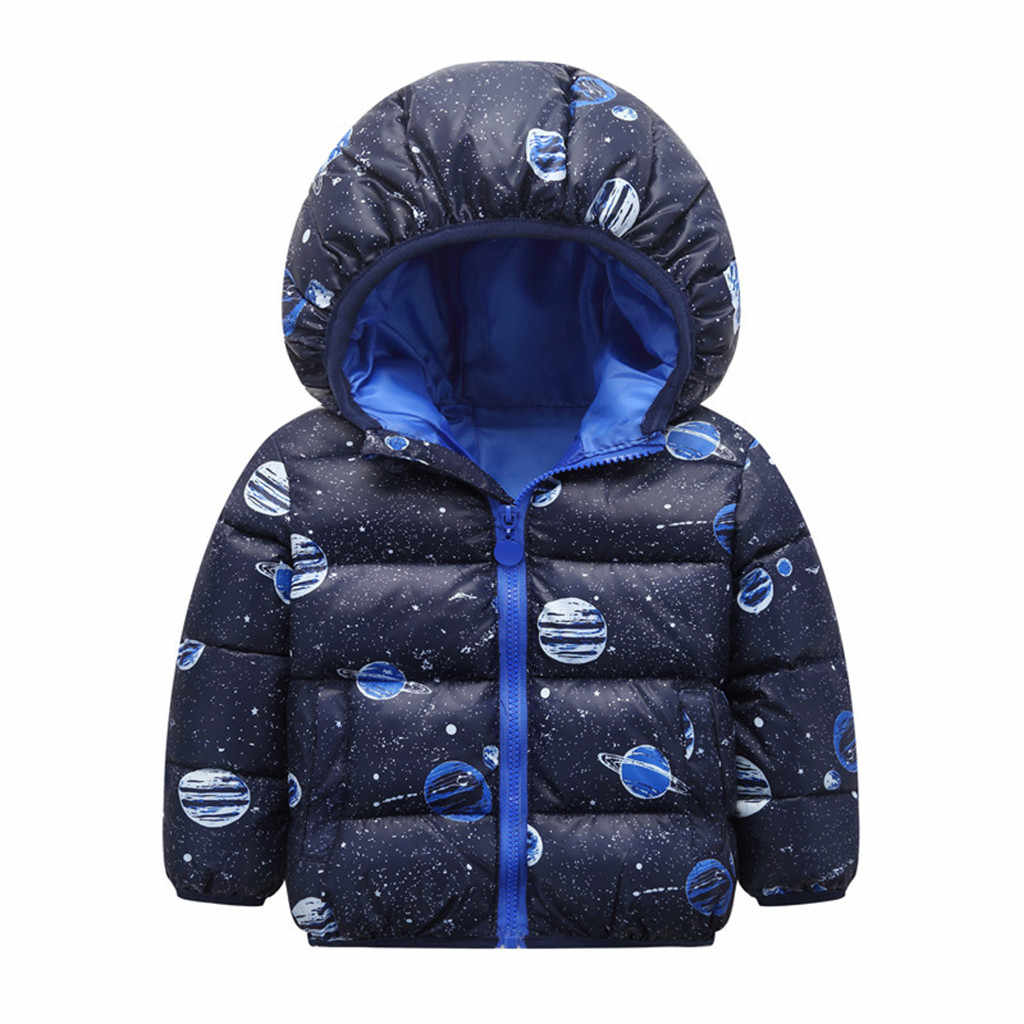 Toddler Kid Baby Girl Boy Winter Warm infant Jackets Cartoon Animal Hooded Coat Jacket Outwear Warm Children Clothes Outfits