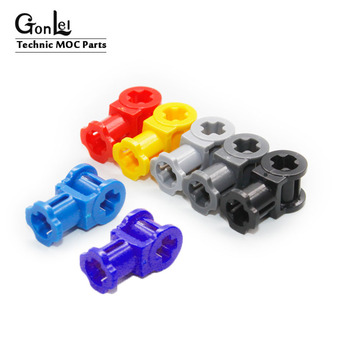30Pcs/Lot Technic Parts Axle Connector with Axle Hole Compatible with 32039 Parts Building Block Bricks Parts Toys For Children 20pcs lot technic parts ev3 bionicle 1x3 tooth with axle hole brick blocks parts diy toys compatible with major parts boy gifts