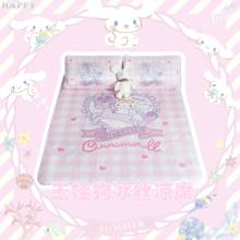 Sailor moon Unicorn Animal stuffed plush Mat Foldable Bed Sheets quilt Bedding set Ice Silk Mats Cover Lovely Pillow cases Quilt(China)