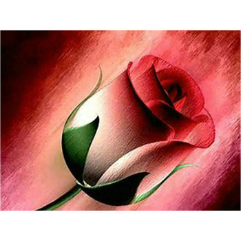 Nueva pintura de diamante cuadrado completo rosa roja diy 5d mosaico de diamantes 3d bordado de diamantes decoración de flores