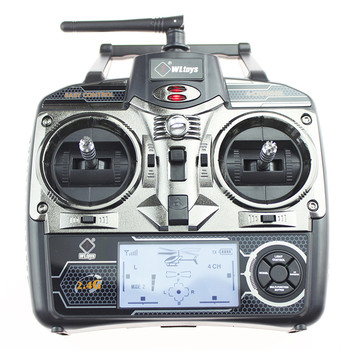 Original WLtoys V912 4CH RC Mini Drone 2.4G 6CH 3D 6G Brushless RC Helicopter with Gyro BNF Remote Control Toys For Kids Gifts 6